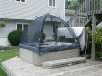 Tub-A-Cabana Hot Tub Enclosure