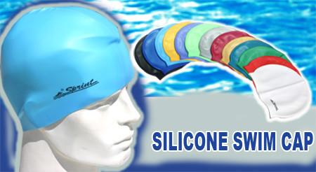 Sprint-Silicone Swim Cap