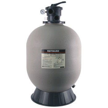 Hayward PRO-SERIES Top Mount Sand Filter with Valve - Above Ground & Inground Pools
