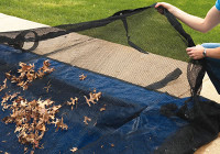 Leaf Net Pool Covers - For Inground Pools