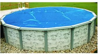 Solar Cover Blanket - Blue - For Above Ground Pools