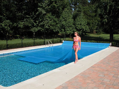 Solar Cover Blanket - Blue - For Inground Pools