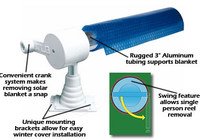Deluxe Above Ground Solar Reel
