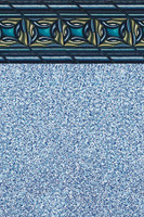 "Above Ground Pool Liner - Pacific Realm - 20 Gauge - 54"" Depth - Uni-Bead"