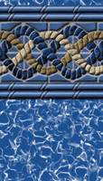 "Above Ground Pool Liner - South Beach - 48"" Depth - Uni-Bead"