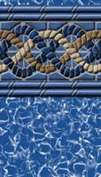 "Above Ground Pool Liner - South Beach - 48"" Depth - Uni-Bead"