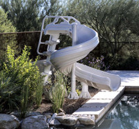 G-Force Pool Slide - For Inground Swimming Pools