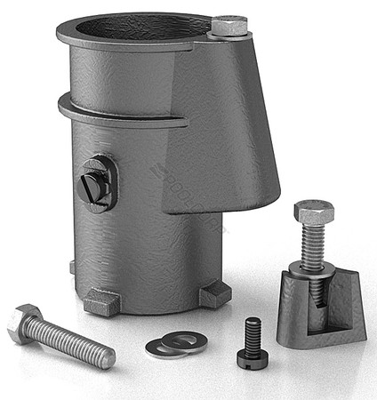 Aluminum Anchor Socket - 4""