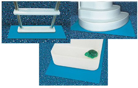 Step and Ladder Pads - For Above Ground Pool Ladders and Steps