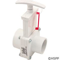 "Valterra Products 1-1/2"" Valve, Sxspg, Pvc-White - 6102"