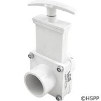 "Valterra Products Gate Valve, 1-1/2"", 3-Pc, Spg X Spg, Pvc-White (6103) - 6103"