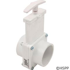 "Valterra Products 2"" Valve, Sxs, Pvc-White - 6201"