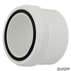 """Waterway Plastics 1.5"""" Qd Tailpc W/ O-Ring For Split Nut - 417-4090"""