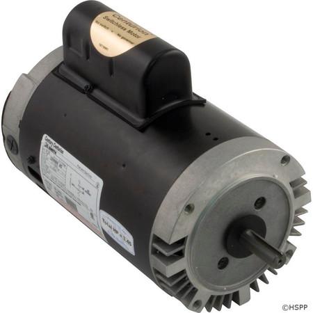 Motor, Century, 3.0hp, 230v, 1-Spd, 56Cfr, C-Face Key