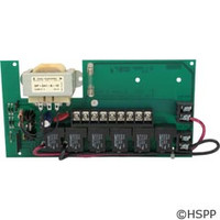 Hydro Spa Parts Ac Board 077 (Has Relays) - 203008