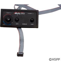 Applied Comp. Controls/ ACC Kp50D Control Panel Electric Buttons - KP502-0