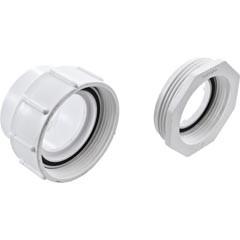 "Aquaflo by Gecko Compression Fitting, 2""X2"" W/ Adapter 1 1/2""X2"" - 52202100"