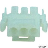 Generic Male Amp Plug Housing 3-Pin -