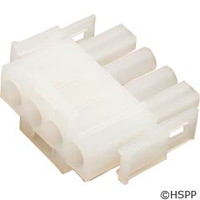 Generic Male Amp Plug Housing 4-Pin -
