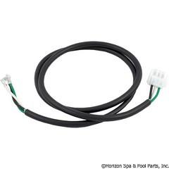 """Hydro-Quip Cord, Accessory, 14/3X50"""" White Amp-3 Male (G,B,W) - 30-1002A"""
