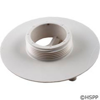 "AquaStar Pool Products 4"" Sumpless Bulkhead,1 1/2""Mpt, White - 415T101"