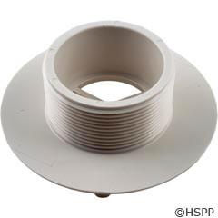 """AquaStar Pool Products 4""""Sumpless Bulkhead,2""""Mpt X 1 1/2""""S, White - 42OT15S101"""