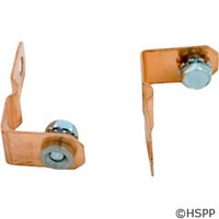 Balboa Water Group Heater To Board Strap Value And Le Only 30511 W/Bolts (2Ea.) - 30511 36151