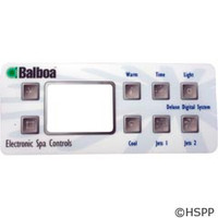 Balboa Water Group Overlay, Serial Deluxe Digital (2-Jet, No-Blwr)(51226) - 10389