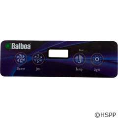 Balboa Water Group Overlay,Lite Duplex Panel, Lcd (1 Pump,Blower,Light)(54094) - 10669