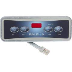 Balboa Water Group Panel,Lite Duplex Digital(2 Jet Buttons,No Blower,Lite)Led - 54104