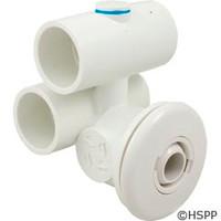 "Balboa Water Group/ITT Microjet Assy 1""X1"" White - 10-5200WHT"
