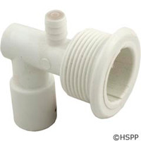 "Balboa Water Group/Pentair Jet Body,Cyclone Euro,3/8""A X 1/2""W Socket,W/Air Check Valve - 90014900"