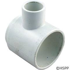 "Waterway Plastics Blower Assist Tee 1/2"" Slip - 413-4200"