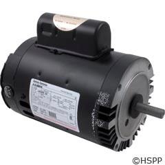 A.O. Smith Electrical Products Motor C-Face Keyed 1.0Hp Sgl Spd 115/230V - B122