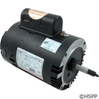 A.O. Smith Electrical Products Motor C-Face Thd 1.0Hp Sgl Spd 115/230V - B128