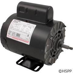 A.O. Smith Electrical Products Aos Motor, 56Fr, 1.0Hp Spl, 2Spd 230V Thru Blt - B232