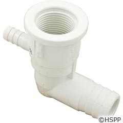 "Waterway Plastics Ell Body, 3/8""B Air X 3/4""B Water - 212-0090"