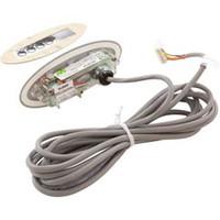 Gecko Alliance Panel,Tsc-9/K-9 Sm Oval,4-Button,Led,Single Pump,S&U Class - BDLTSC9GE1