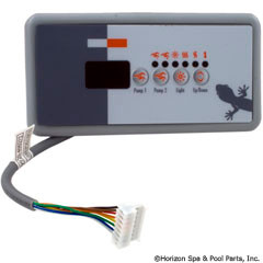 Gecko Alliance Panel,Tsc-18/K-18 Sm Rec,4-Button,Led,Sspa,Dual Pmp - BDLTSC18GE2