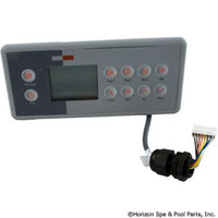 Gecko Alliance Panel,Tsc-4/K-4 Lg Rec, 10-Button, Real T/C, 3-Pmp Mspa-Mp - BDLTSC410K