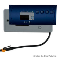 Gecko Alliance Panel,Tsc-19-Ae,Lg Rec,4-Button,Dual Pump,In.Xe, 20Ft Cord - BDLK192OP20