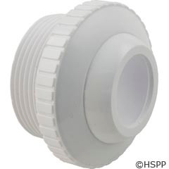 "Custom Molded Products Outlet Fitting, 1-1/2""Mpt X 1"" Eye, White (Generic) - 25552-400-000"