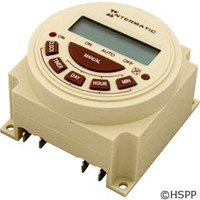 Intermatic Timer, Electric, 7 Day, Spst 20A 120V - PB373E