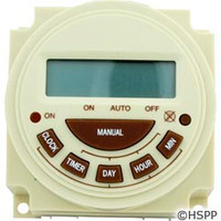 Intermatic Timer, Electric, 7 Day, Spst 20A 240V - PB374E