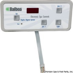 Balboa Water Group Panel, Duplex Digital (2-Jet, No-Blwr) - 51248