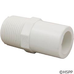 "Dura Plastic Products Male Fitting Adapter, 3/4"" Spg X Mpt - 433-007"
