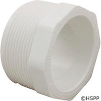 "Dura Plastic Products Reducer Pvc 2"" X 1.5"" Mpt X S - 436-251-2"