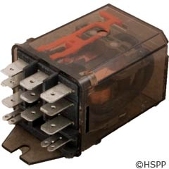 """Schrack Dustcover Relay 120Vac 15A 3Pdt .25"""" -"""