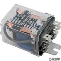 Deltrol Controls Dustcover Relay Dpdt 30A 120Vac Coil -