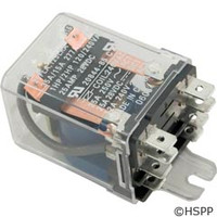 Deltrol Controls Dustcover Relay Dpdt 30A 240Vac Coil -